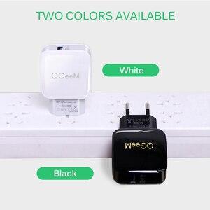 Image 2 - QGEEM QC 3.0 chargeur USB Charge rapide 3.0 chargeur de téléphone pour iPhone 18W3A chargeur rapide pour Huawei Samsung Xiaomi Redmi EU prise américaine