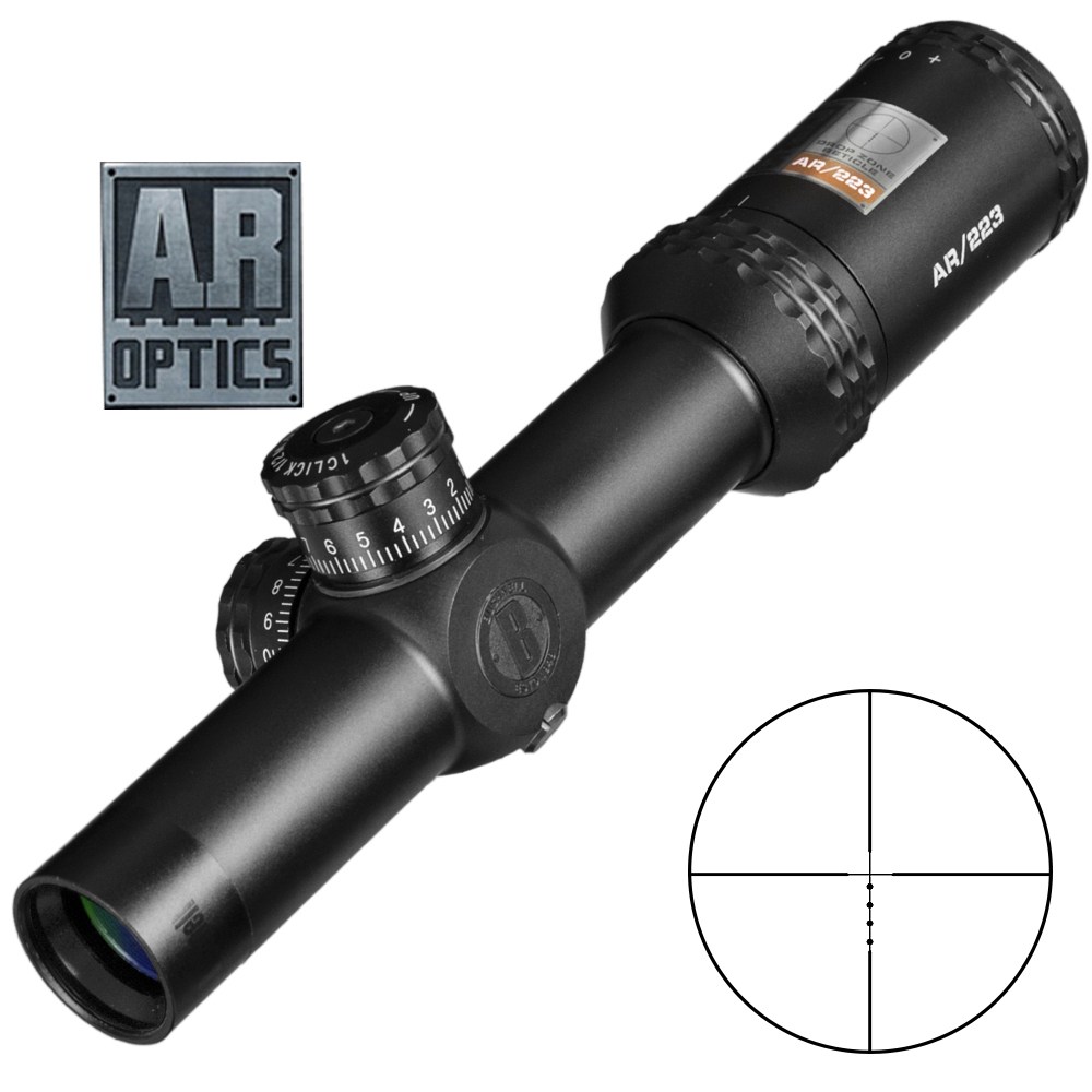 1-4x24 Ar Optics Drop Zone-223 Reticle Tactical Riflescope With Target Turrets Hunting Scopes For Sniper Rifle image