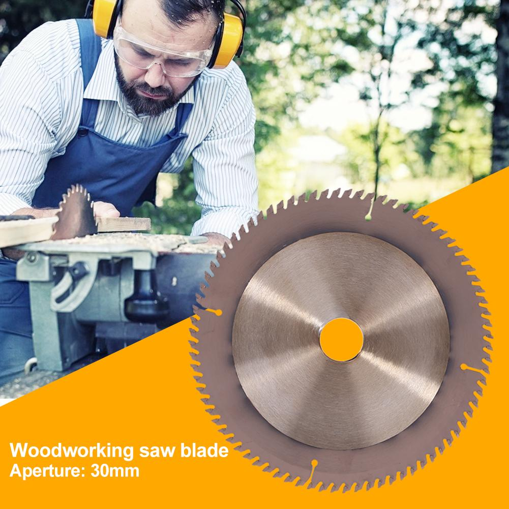 80 Teeth Woodworking Saw Circular Saw Blade Woodworking Sharp Wear Resistance Durable Fine Workmanship CuttingGrinder Wheel