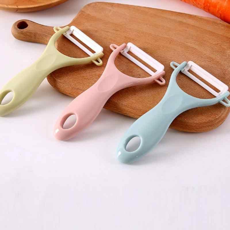 3 cores cerâmica multi-função vegetal descascador julienne cortador descascador batata cenoura ralador ferramenta de cozinha gadgets