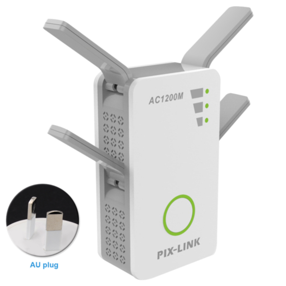 1200Mbps Large Range Stable Practical Wireless Dual Band Durable Wifi Router Amplifier Signal Booster Repeater Whole Home