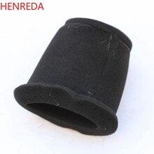 Esponja da motocicleta filtro de ar mais limpo preto para suzuki gn250 tu250 gn125 tu125 gs125 en125 gn tu 125 250 en