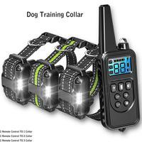 1pc Hund Training Gerät 20 ~ 100 lb Haustier Hund Wasserdichte Kragen LCD Fern Fernbedienung Statische Strom/Vibration