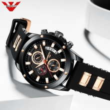 NIBOSI 2020 Top Brand Luxury Mens Watches 30m Waterproof Date Clock Male Sports