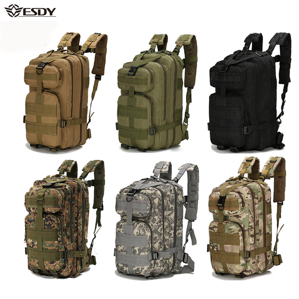 Outdoor Military Rucksacks 1000D Nylon 30L Waterproof Tactical backpack Sports Camping Hiking Trekking Fishing Hunting Bags(China)
