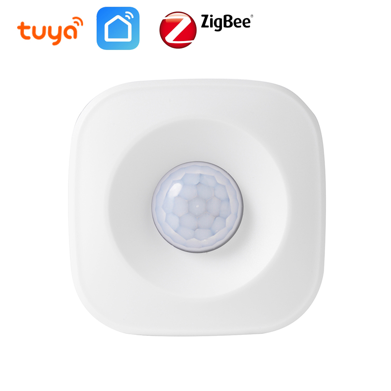 Tuya IFTTT Battery Powered Smart ZigBee PIR Motion Sensor Detector Home Alarm System Works With Mini ZigBee Hub