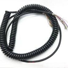 12 15 19 21 26 ядер пружинный спиральный кабель для ЧПУ ручной энкодер ручной импульсный генератор MPG