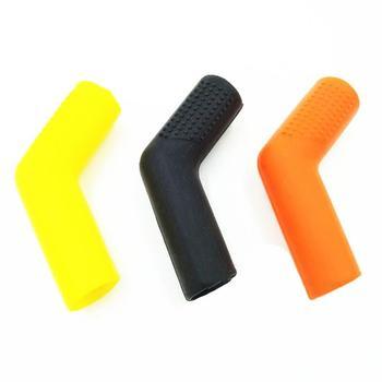 Multicolor gumowa motocykl Shifter buty skarpety Protector pokrowiec dźwigni zmiany biegów motor terenowy dźwignia zmiany biegów z długim rękawem części do tuningu akcesoria tanie i dobre opinie CN (pochodzenie) 5cmcm 7cmcm Ramki ochronne 0 02kgkg Rubber Shifter Sock Shoe Protector Orange yellow Green 2cm 0 78inch