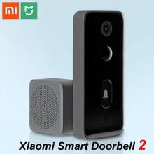 Xiaomi Mijia Video inteligente timbre 2 Wireless WIFI de seguridad para el hogar inteligente de la visión nocturna infrarroja de intercomunicador de dos vías de detección de movimiento