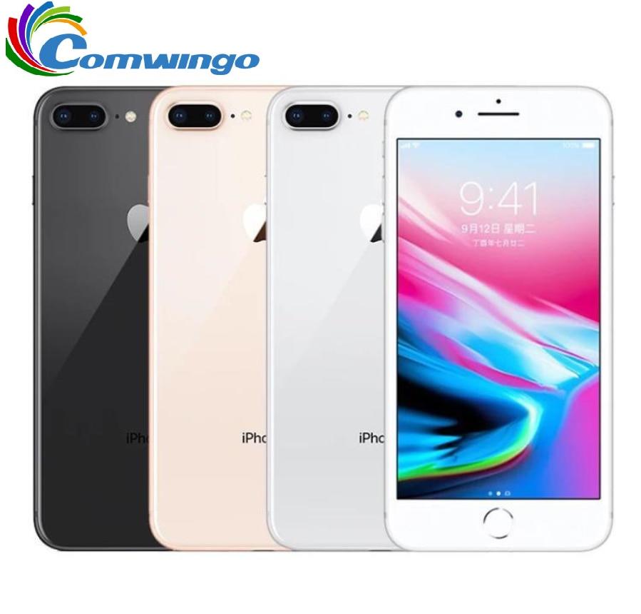 Original Apple iphone 8 Plus Hexa Core iOS 3GB RAM 64GB/256GB ROM 2691mAh 5.5 inch 12MP Fingerprint LTE Mobile Phone Cellphones  - AliExpress