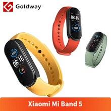 Смарт-браслет Xiaomi Mi Band 5, 4 цвета, AMOLED экран, Mi Band 5, смарт-браслет, фитнес-трекер, Bluetooth, спортивный водонепроницаемый смарт-браслет