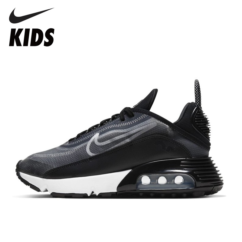 NIKE Original AIR MAX  2090 Kids Running Shoes AIR Cushion Men Sneakers Breathable Anti-slip Woman Shoes CT7698 CT7695