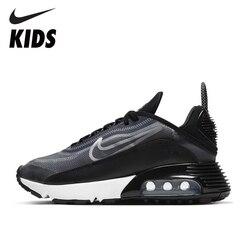 NIKE Original AIR MAX 2090 enfants chaussures de course coussin d'air hommes baskets respirant anti-dérapant femme chaussures CT7698 CT7695