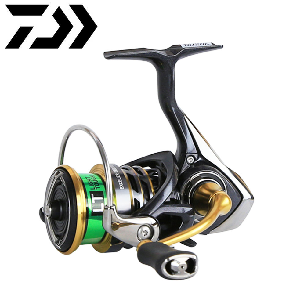 Daiwa Fishing Reel EXCELER LT 1000D/6000D Light And Strong LC-ABS Metail Spool 4KG-12KG Ultraleve 185g-320g
