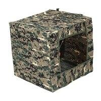 Foldable target box aim practice t