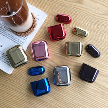plating pc Earphone Case For Airpods 2 Air pods Color Hard PC Cases AirPods Protective Cover Wireless