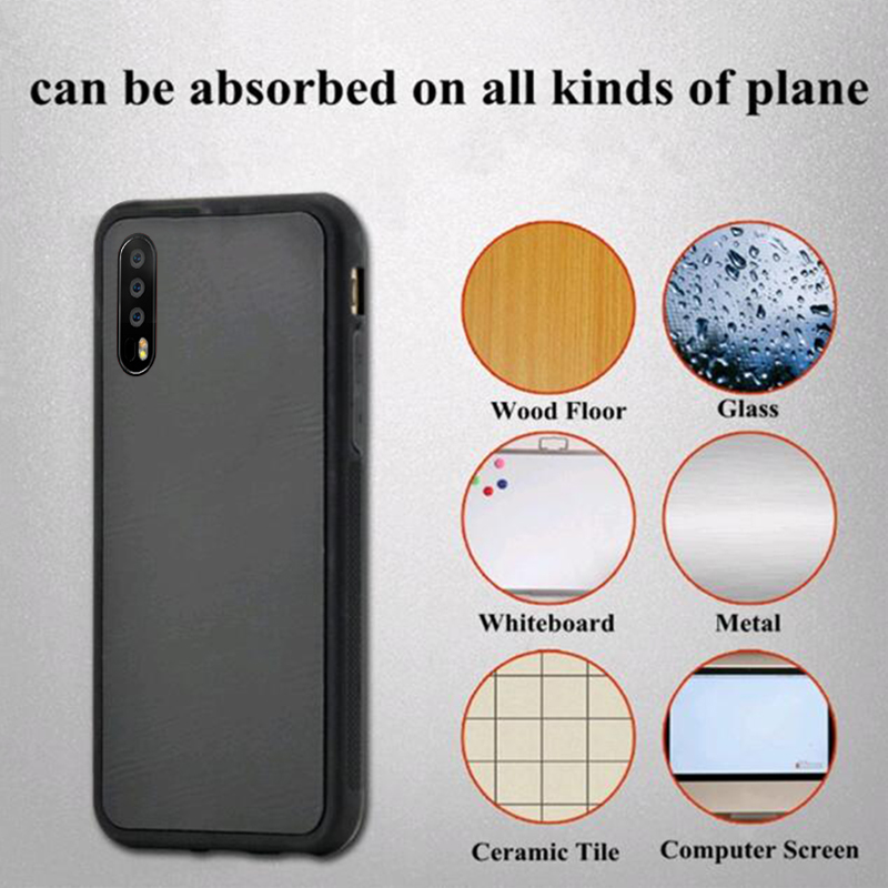 Anti-gravity Silicone Case For Huawei P20 P30 Pro P9 P10 Plus Magical Nano Suction Back Cover For Huawei P30 P20 lite 2019(China)