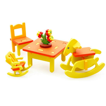 цена на Kids Wooden Puzzle toys Wooden Horse 3D assembling furniture, Model Building Kits Wood Toy, Baby Assembly puzzles Furniture Toys
