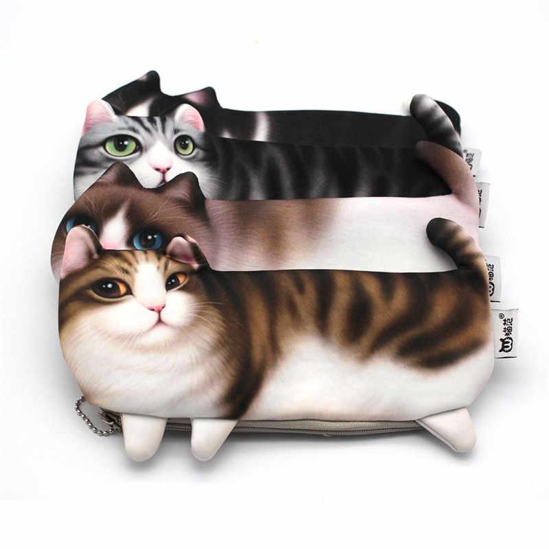 Cat Zipped Pouch Cat Pencil Case cat Pencil Case Cut Cat Gift Cats Pattern Cats Zip Pouch Cats Pouch Cat lovers Gifts