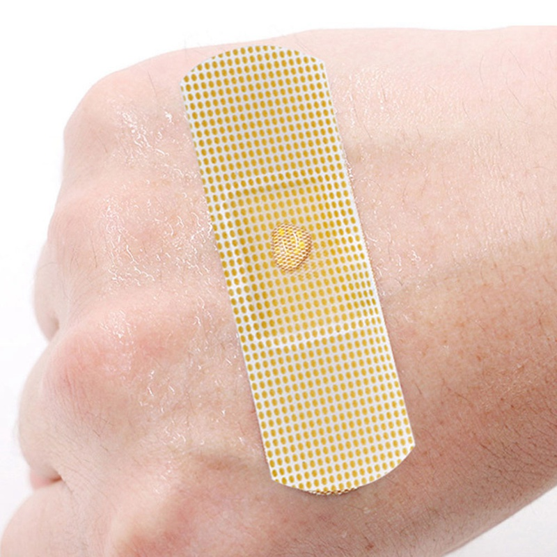 100Pcs/psck Band-Aids Waterproof Breathable Cushion Adhesive Plaster Wound Hemostasis Sticker Band First Aid Bandage Medical