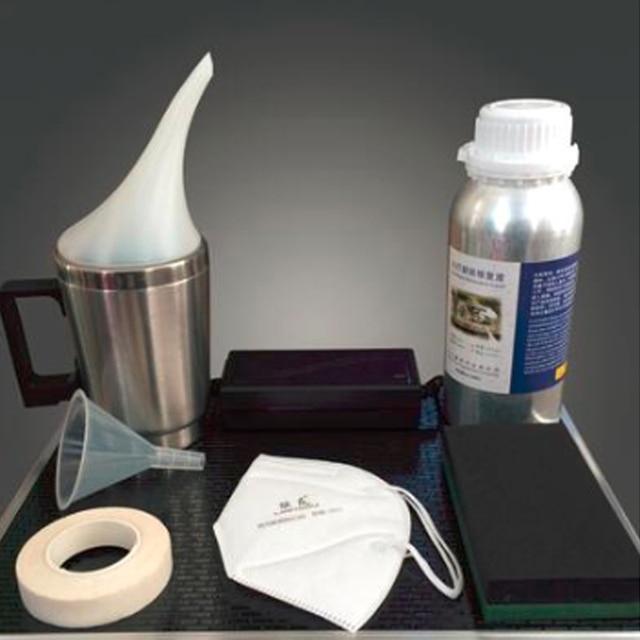 Revêtement de phares de voiture, Kit de réparation de phares de voiture, anti rayures, verre, polissage, 800g