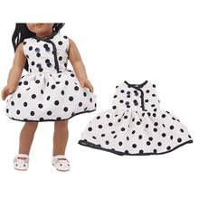 Hot Sales Doll Clothes 15 Style Skirt With Patterns For 18 Inch Doll&43 Cm Born Doll For Generation Girl's Toy(China)