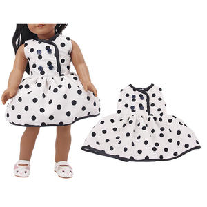 Hot Sales Doll Clothes 15 Style Skirt With Patterns For 18 Inch Doll&43 Cm Born Doll For Generation Girl's Toy