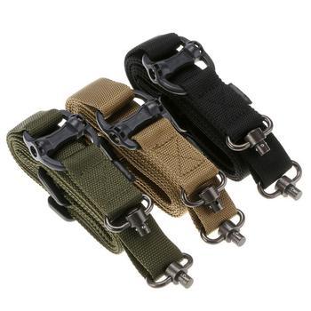 Magorui Hunting Tactical Rifle Gun MS4 Sling Strap Quick Detach QD Swivel Dual 2 Points 6