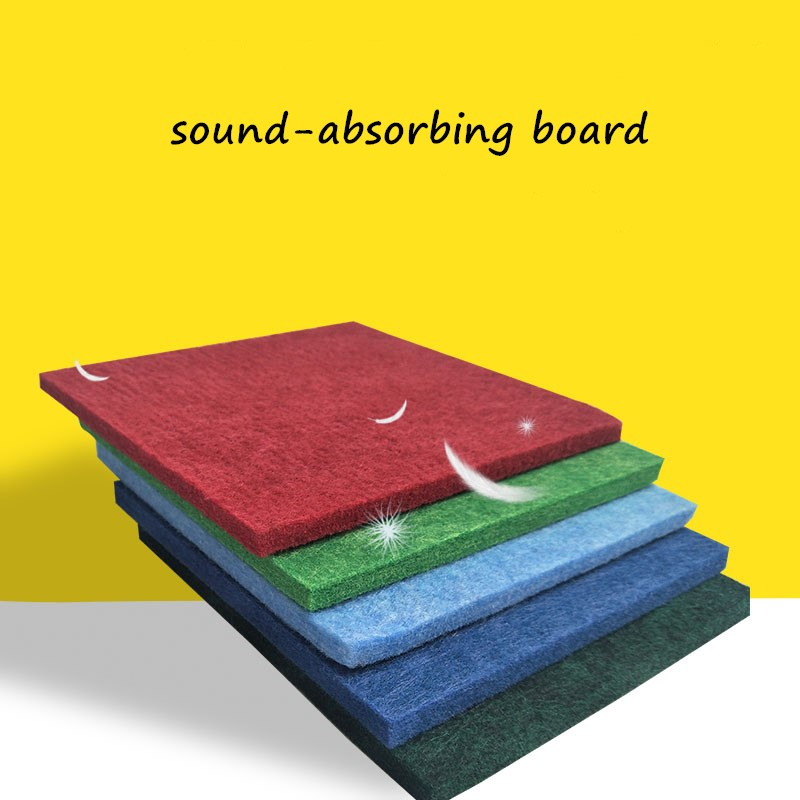 4pcs 300x300x9mm Soundproofing Board Studio Acoustic Panels Studio Board Wedges Soundproof Absorption Treatment Panel