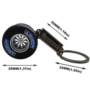 Image 2 - LQY 2020 keychain car business Tire interior accessories keyring Creative Auto Accessories new