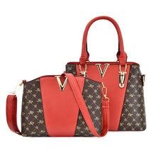 2021 Ladies Shoulder Bag Fashion Trend Cross-Body Bag Backpack Teather Travel Handbag Wallet BAM133-BAM136