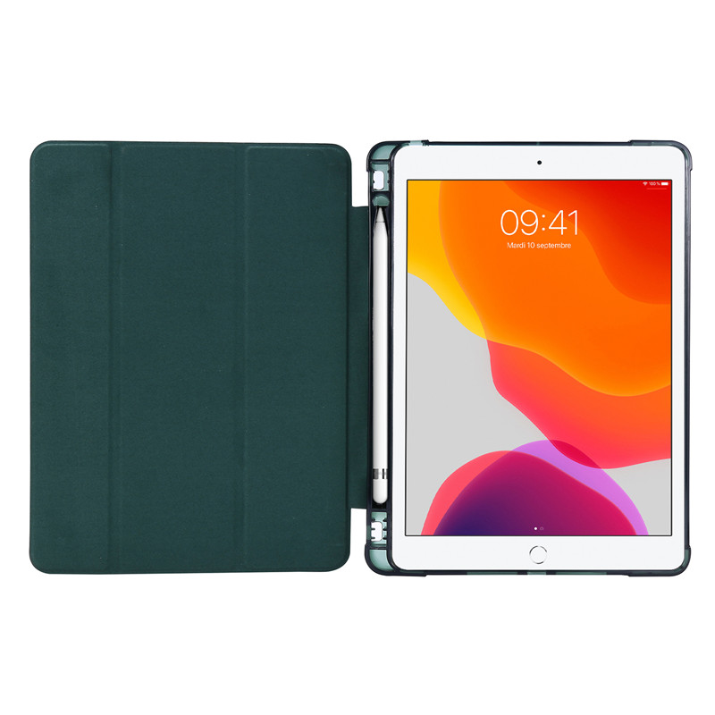 Smart Generation Holder Case 7th Protective Cover Case For Pencil Flip with iPad Stand