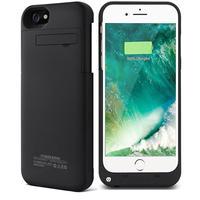 Cep telefonları ve Telekomünikasyon Ürünleri'ten Pil Şarj Kılıfları'de Satış 3200mAh pil iphone için kılıf 6 6S 4.7 inç harici taşınabilir acil yedek taşınabilir güç bankası kapak ücretsiz kargo