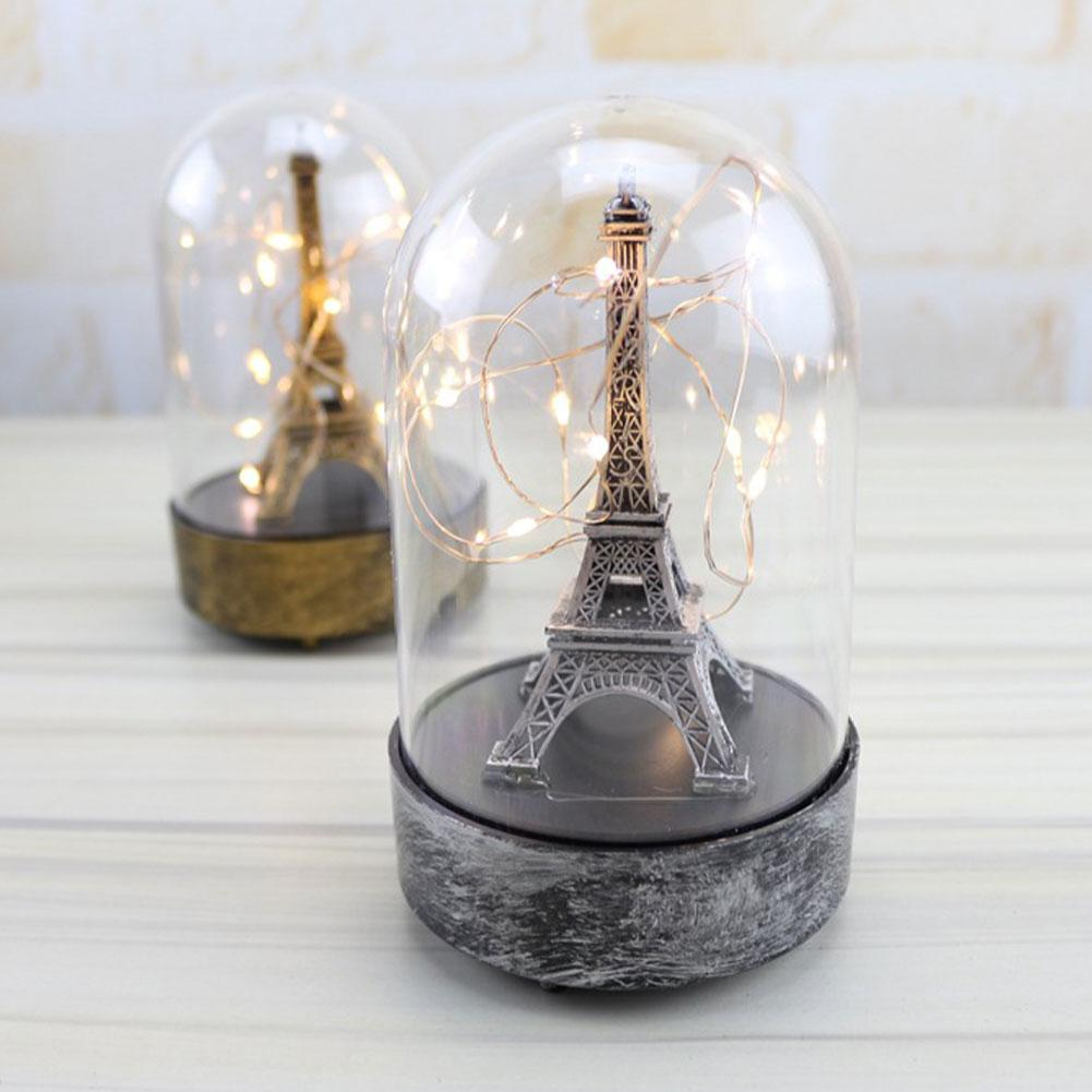 Paris Tower Light Romantic Innovative Night Lamp For Valentine's Day Girlfriend Birthday Decoration Decorative Boutique Ornament