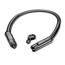 TWS Bluetooth наушники HD стерео беспроводные наушники с шумоподавлением игра Спорт Висячие шеи с микрофоном для iphone android