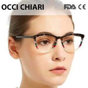 Image 3 - Женские очки в итальянском стиле OCCI CHIARI, оправа для очков, зеркальные очки, разноцветный подарок, зеркальные очки