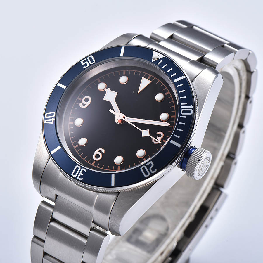 watch men automatic mechanical watch 316L Solid stainless steel Luminous waterproof 41MM  DT611z
