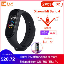 In Voorraad Xiaomi Mi Band 4 Smart Miband 3 Kleur Amoled Screen Armband Hartslag Fitness Tracker Bluetooth5.0 Waterdichte Miband4(China)