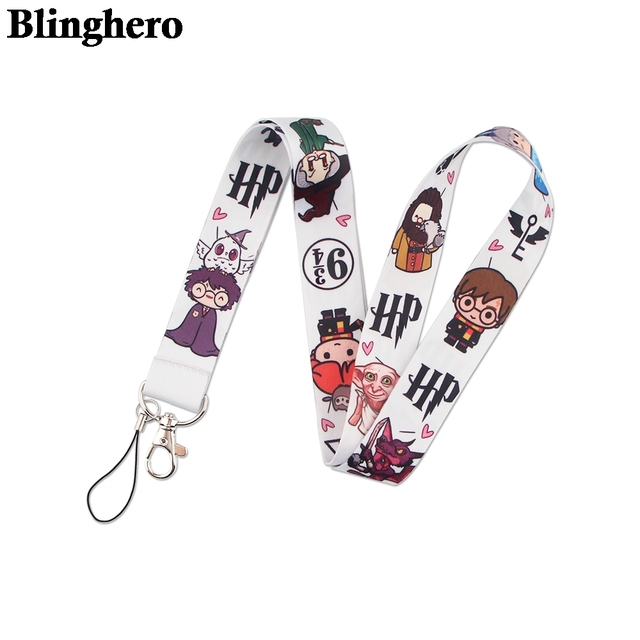 CA1508 Wholesale 20pcs/lot Magic School Hot Keychain Straps Rope Cell Phone Neck Strap Lanyard for ID Card Key Chain DIY Lanyard 3