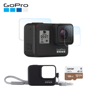 Original GoPro HERO 7 Black Action Camera 4K 60fps 1080P 240fps video Go Pro Sport cam 12MP Photo wifi Live Streaming Hero7
