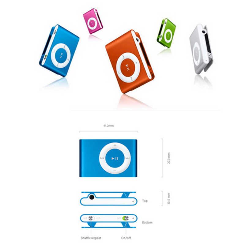 Mới Khuyến Mại Lớn Gương Di Động MP3 Người Chơi Mini Kẹp MP3 Người Chơi Thể Thao Chống Thấm Nước MP3 Nghe Nhạc Walkman Lettore MP3