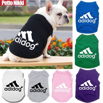 Pet Dog Vest Summer Cool Dog Clothes Cute For Puppy Breathable T-shirt Dog Shirt For Small Medium Dogs Chihuahua Yorkshire