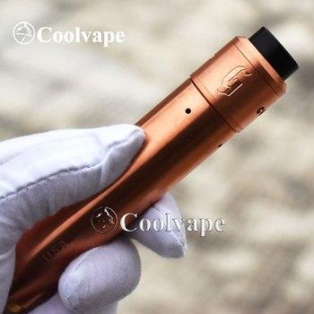 coolvape rogue mod with 528 customs goon 25mm rda 25mm Mechanical mods E cigarette Vape 18650/20700 battery Mech MOD