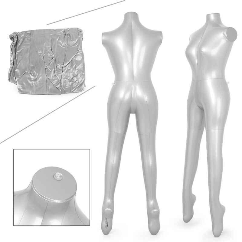 Moda kobieta nadmuchiwany model manekin ciała manekin bez ramienia wyświetlacz DIY ubrania pcv pompowania wyświetlacz detaliczny