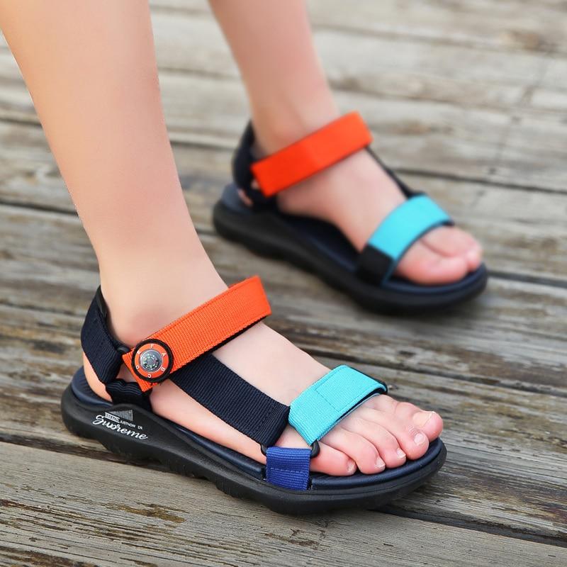 Boys Fashion Webbing Sandals