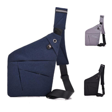 Men Sport Crossbody Bag Anti-theft Pistol Gun Concealment Holster Tactical Storage Glock Case Pouch