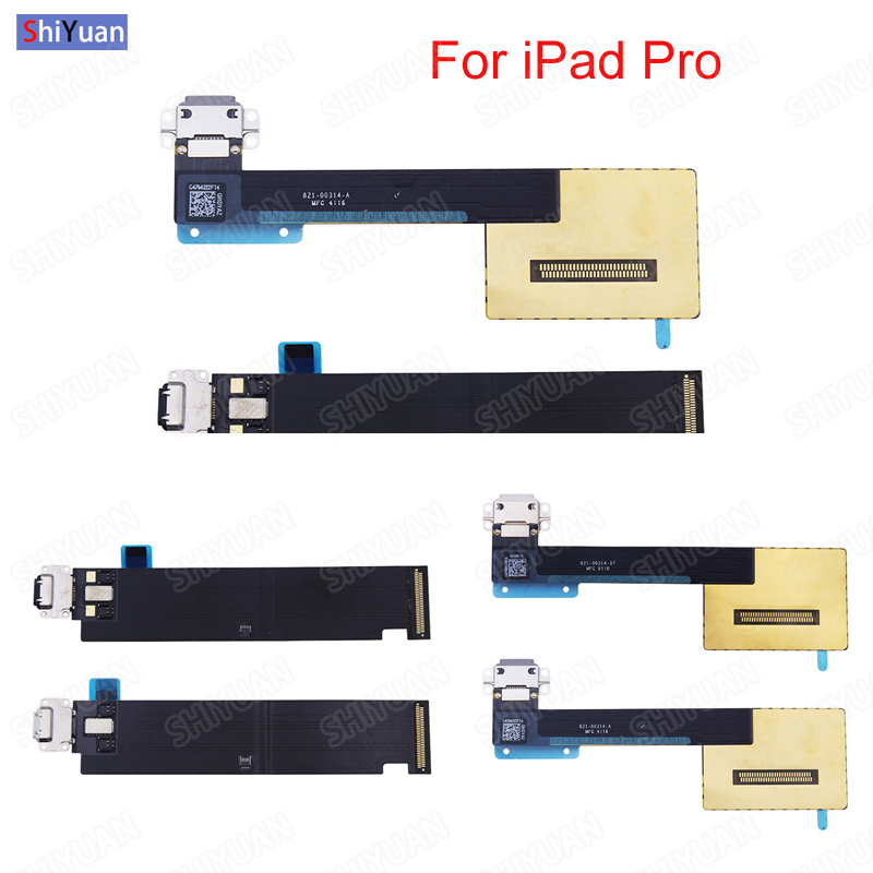 "For Ipad Pro 9.7"" 10.5"" 12.9"" Pro 11,Pro 12.9 2018  USB Charger Dock Connector Charging Port Flex Cable  A1673 A1674 A1895 Plug"