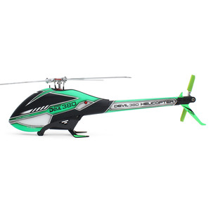 Image 2 - ALZRC   Devil 380  TBR KIT Helicopter 380 RC Helicopter  Silver   2019