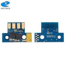 K 2.3K EUA Versão 71B10K0 3 71B10C0 71B10M0 71B10Y0 chip de toner para Lexmark CS317 CX317 CS417 CX417 CS517 CX517 Impressora A Laser
