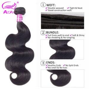 Image 4 - Extensiones de pelo ondulado brasileño, 30 pulgadas, 100%, extensiones de cabello humano, doble máquina, trama, Remy, Gama Completa